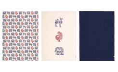 Set of 3 napkins