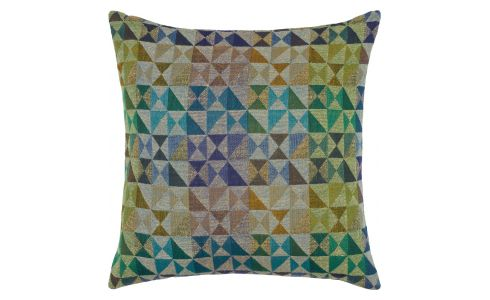 Cushion 45x45, with multicolored patterns