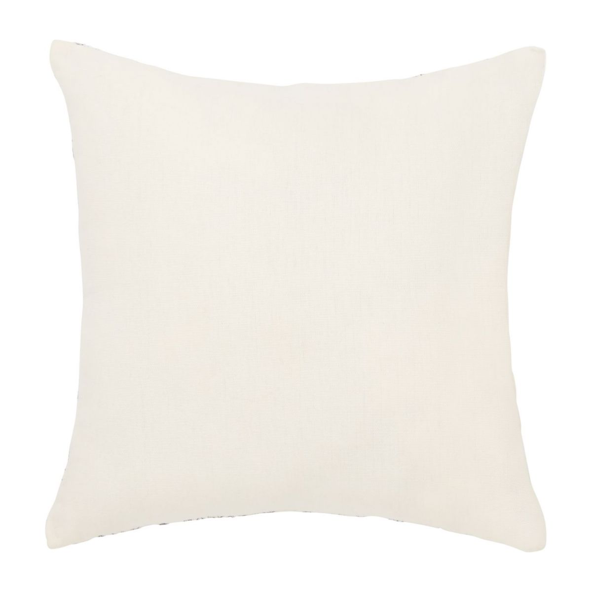 Coussin 30x30 broderie bleue n°3