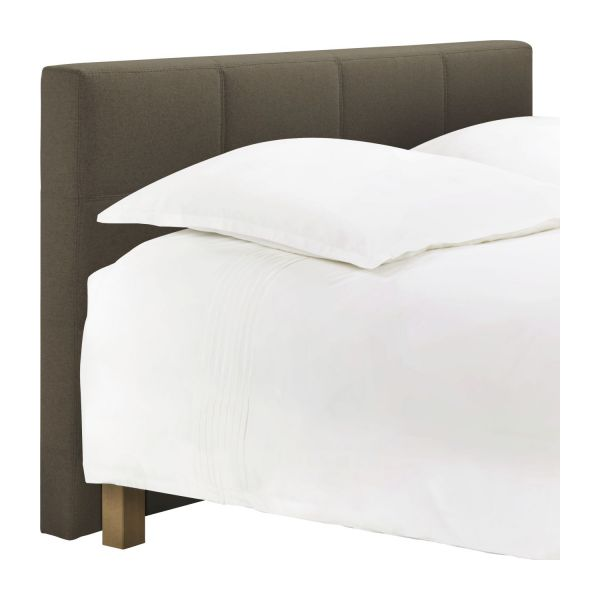 venus t te de lit pour sommier en 140 cm en feutrine beige chin habitat. Black Bedroom Furniture Sets. Home Design Ideas