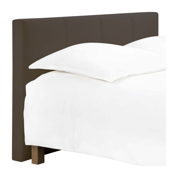 venus t te de lit pour sommier en 140 cm en tissu cappuccino habitat. Black Bedroom Furniture Sets. Home Design Ideas