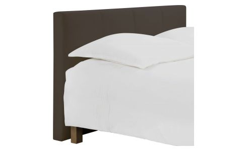 Headboard for 160cm box spring in fabric, cappuccino