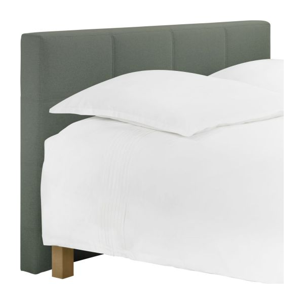 venus t te de lit pour sommier en 180 cm en feutrine vert chin habitat. Black Bedroom Furniture Sets. Home Design Ideas