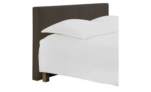 Headboard for 180cm box spring in fabric, cappuccino