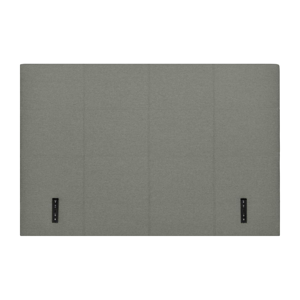 Headboard for 180cm box spring in fabric, mouse-grey n°3