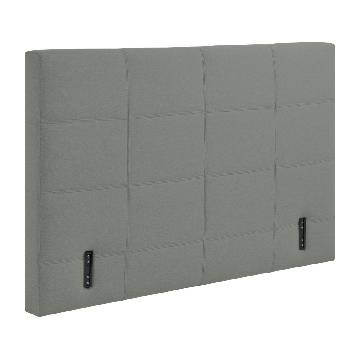 Headboard for 180cm box spring in fabric, mouse-grey n°2