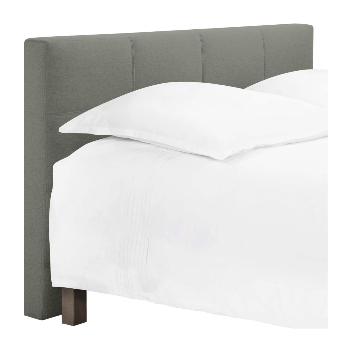 Headboard for 180cm box spring in fabric, mouse-grey n°1