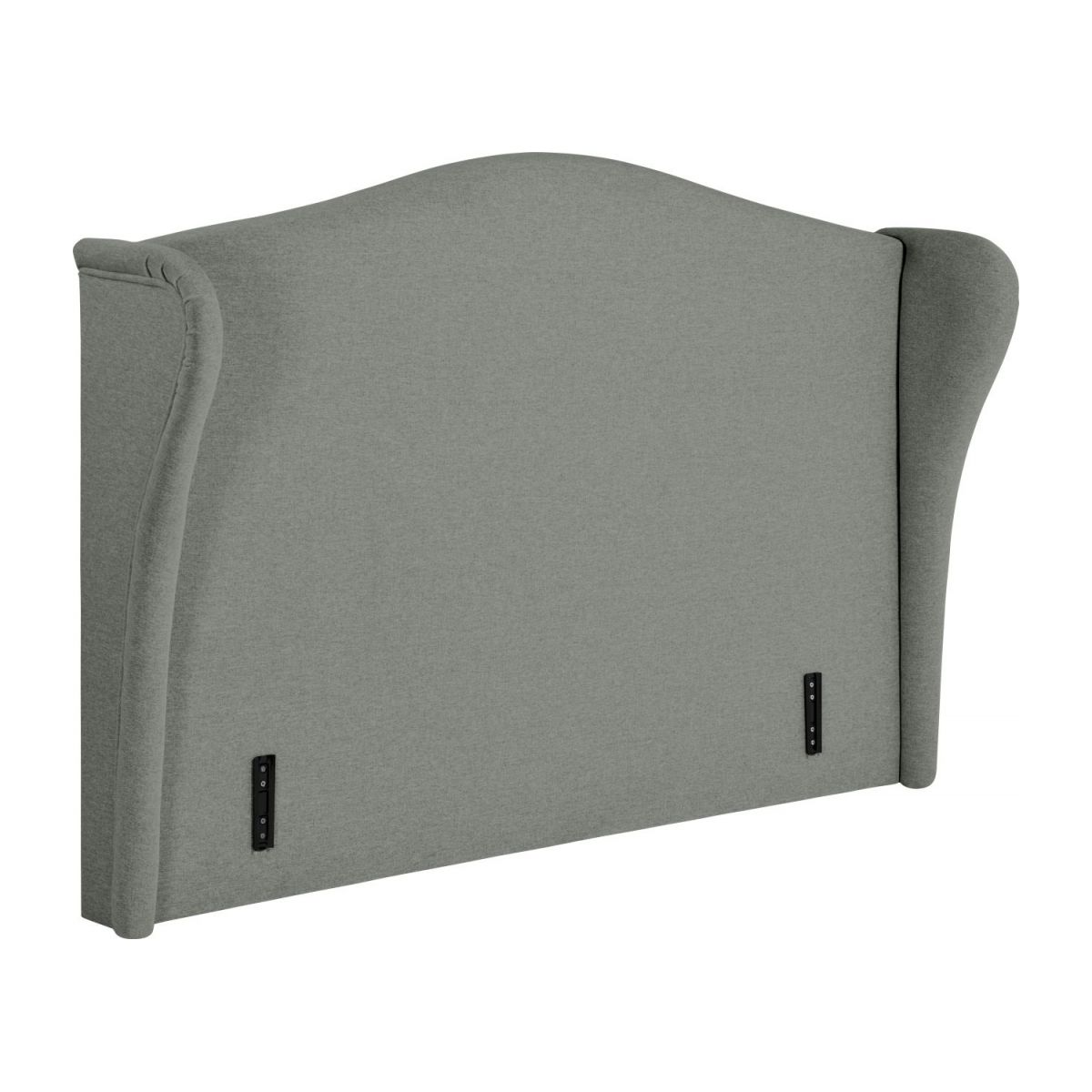 Headboard for 140cm box spring in fabric, mouse-grey n°2