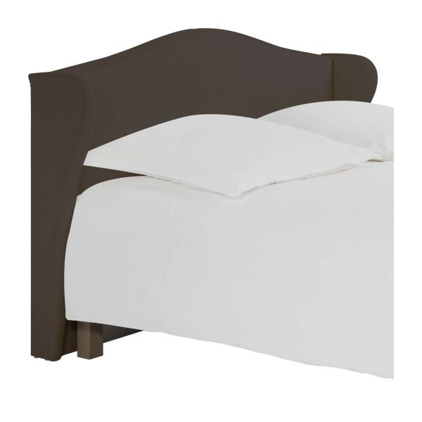 ushuaia t te de lit pour sommier en 160 cm en tissu cappuccino habitat. Black Bedroom Furniture Sets. Home Design Ideas