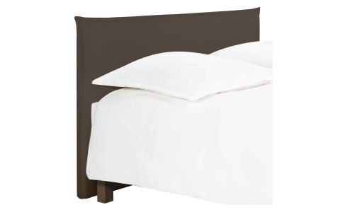 Headboard for 140cm box spring in fabric, cappuccino