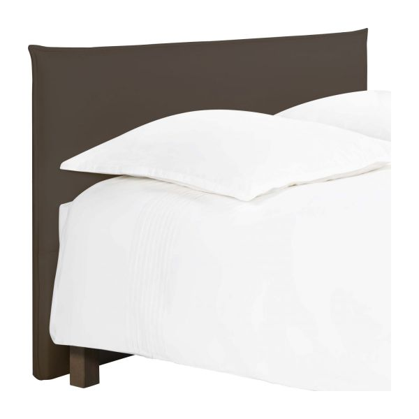 jupiter t te de lit pour sommier en 160 cm en tissu cappuccino habitat. Black Bedroom Furniture Sets. Home Design Ideas