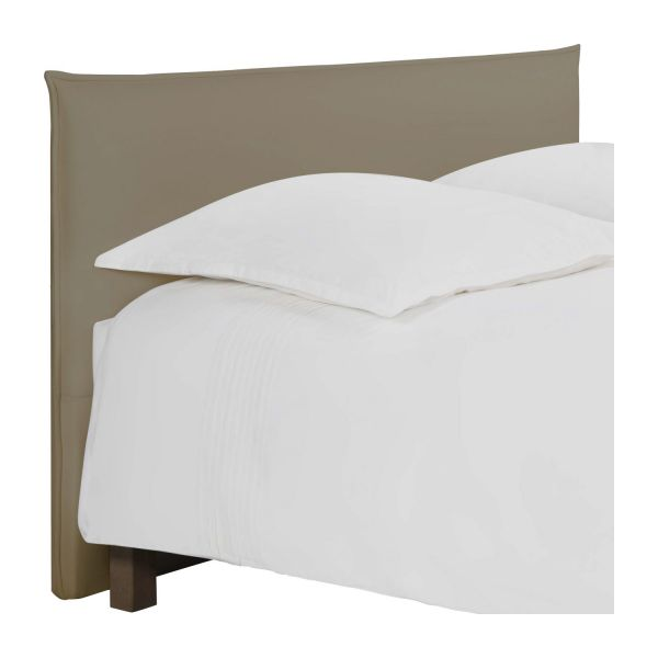 jupiter t te de lit pour sommier en 180 cm en tissu beige clair habitat. Black Bedroom Furniture Sets. Home Design Ideas