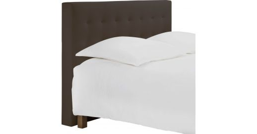 serengeti t te de lit pour sommier en 180 cm en tissu cappuccino habitat. Black Bedroom Furniture Sets. Home Design Ideas