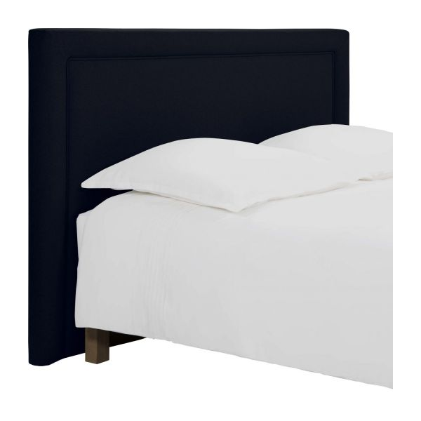 montana t te de lit pour sommier en 140 cm en feutrine. Black Bedroom Furniture Sets. Home Design Ideas