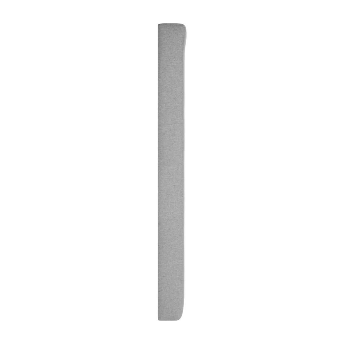 Headboard for 140cm box spring in fabric, mouse-grey n°4