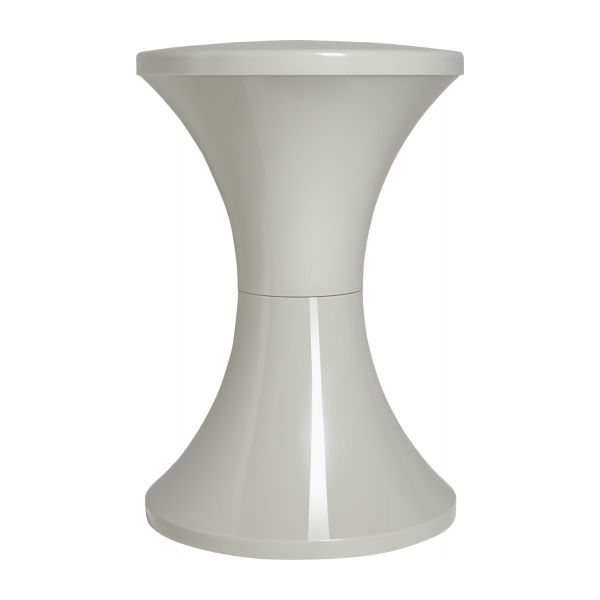 Stool made of plastic, grey n°3