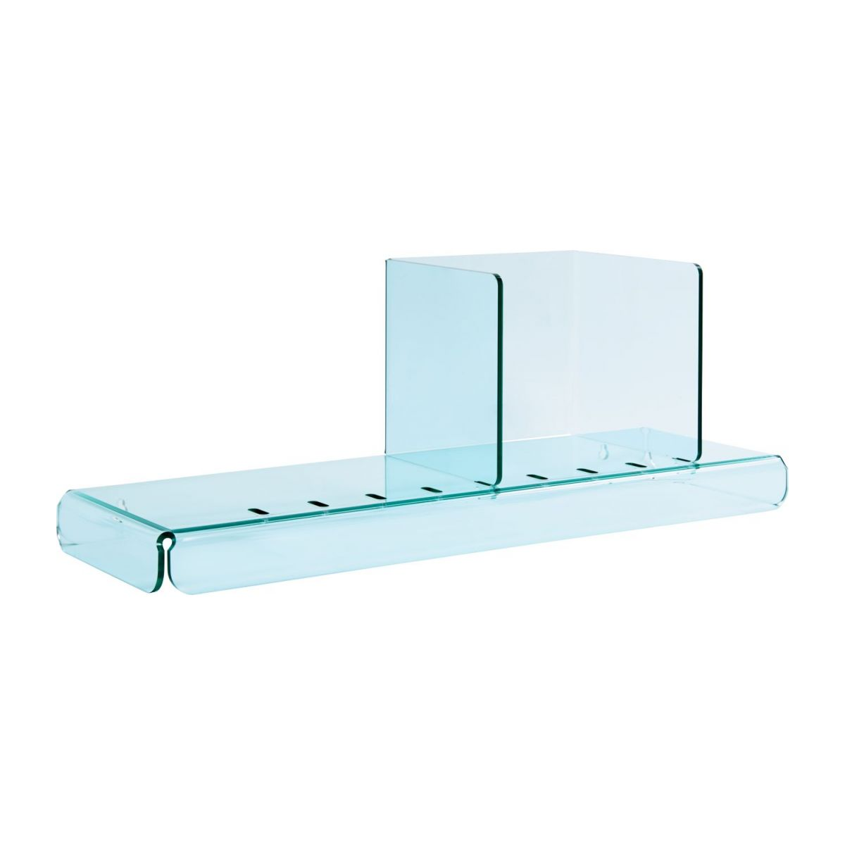 Shelf made of acrylic, transparent n°1