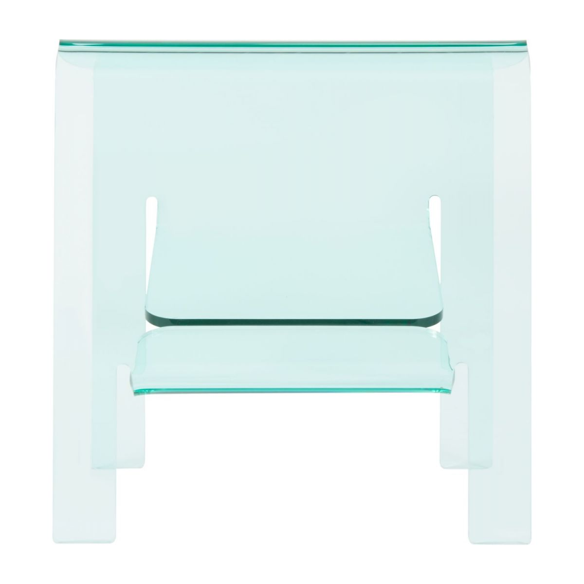 Table d'appoint en acrylique transparente n°5
