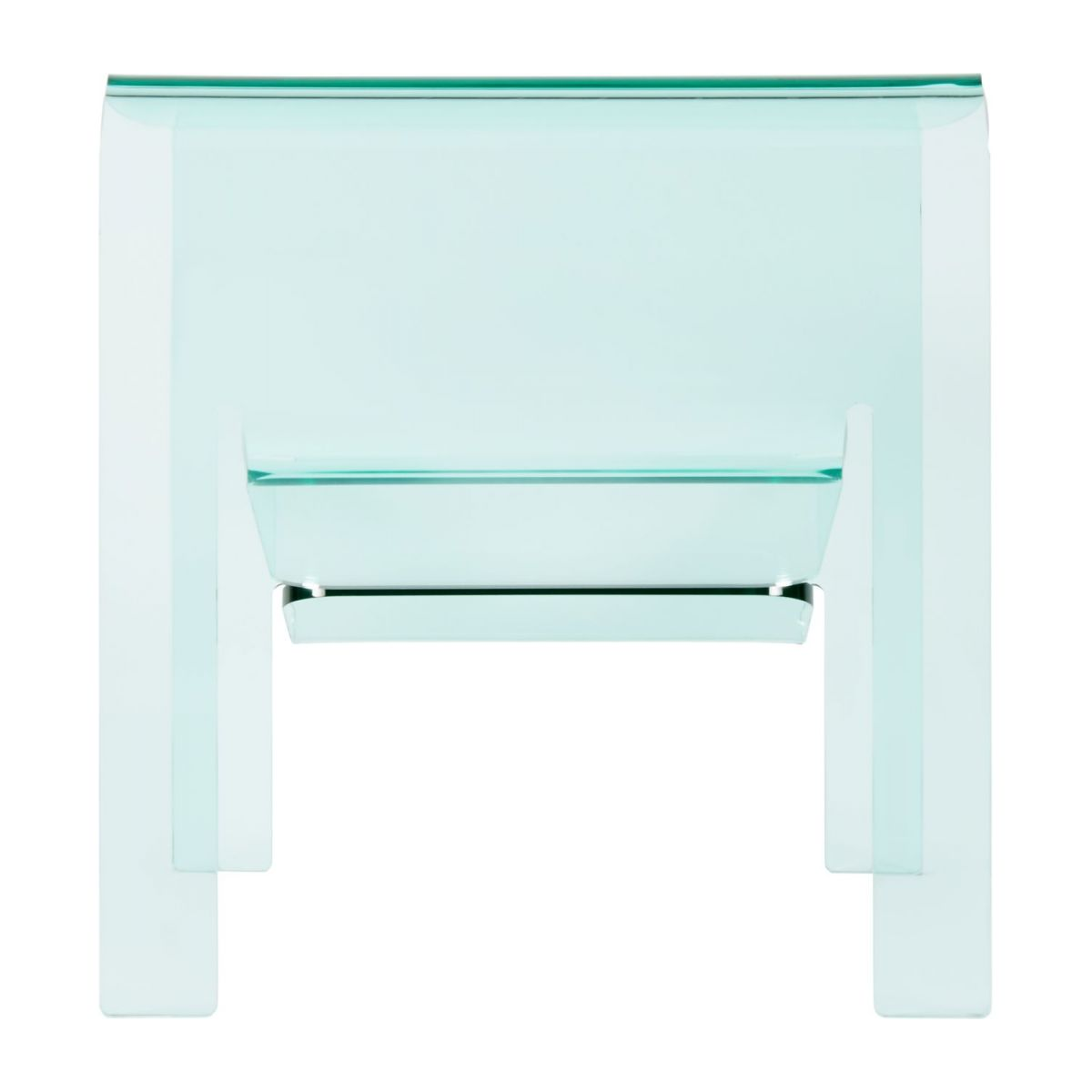 Table d'appoint en acrylique transparente n°4