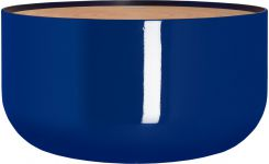Table d'appoint en bambou indigo