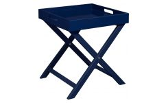 Indigo side table