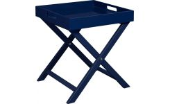 Side table, indigo
