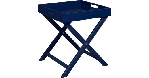 Oken Indigo Side Table Habitat