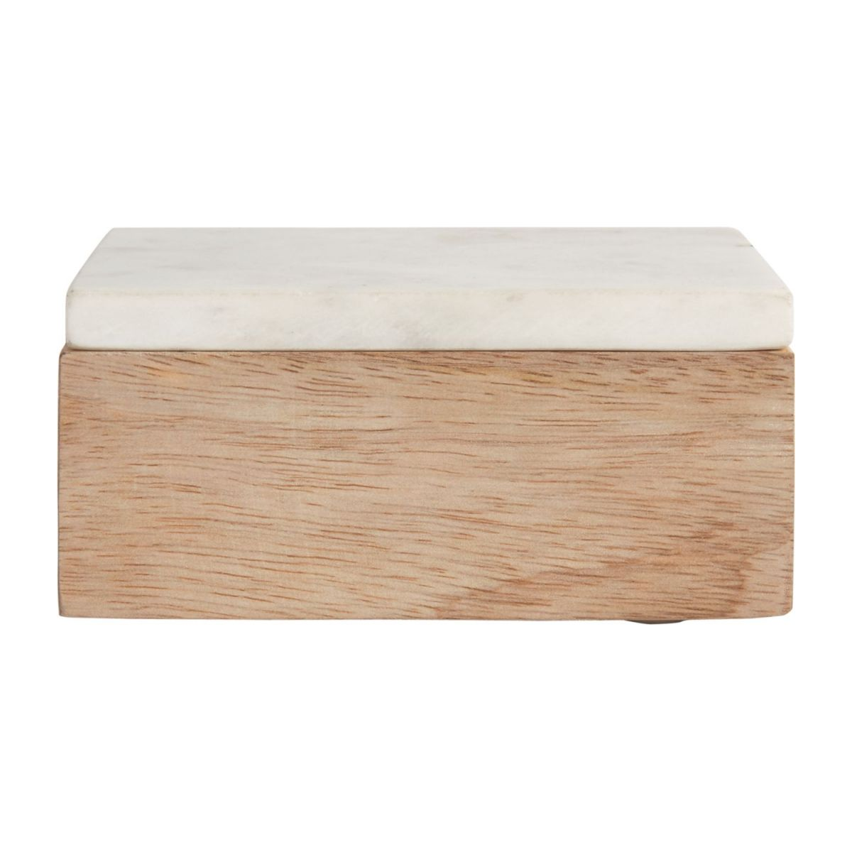 Box made of wood and marble n°4