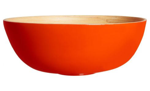Bowl made of bamboo 15cm, red