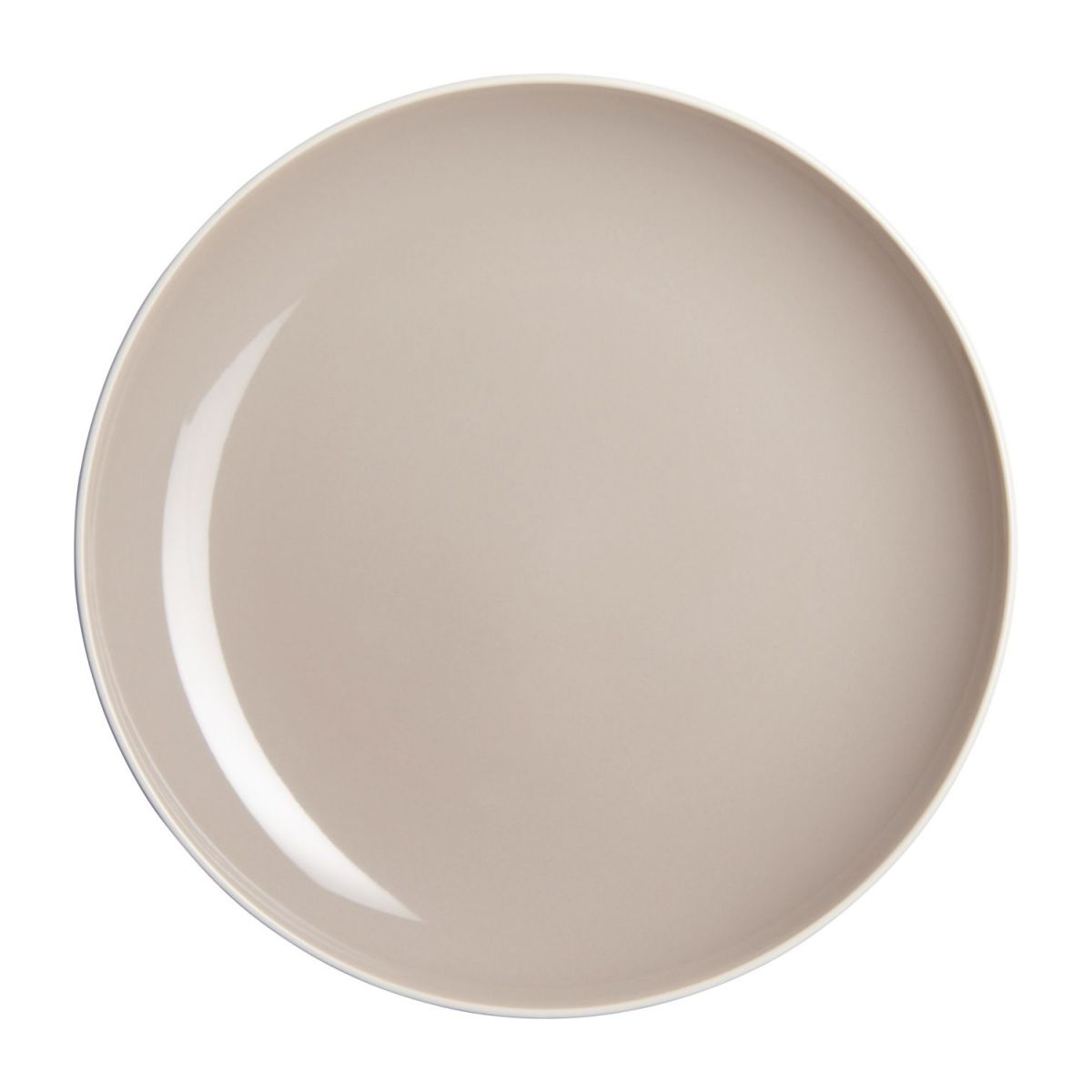 Dessert plate made of sandstone, grey n°1