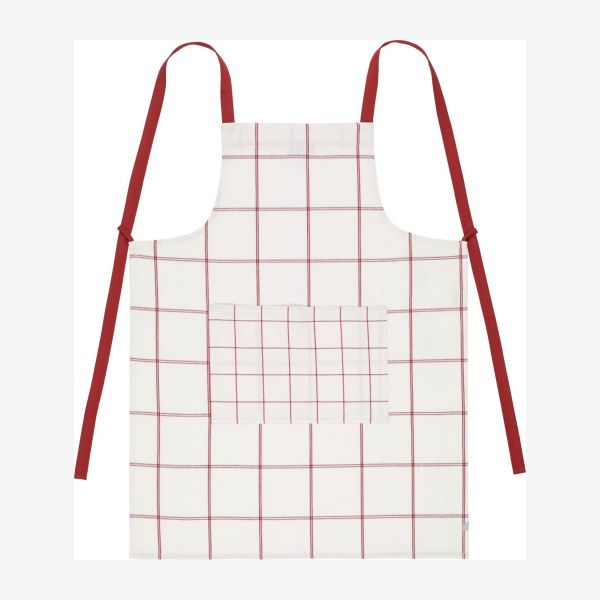 Apron, red