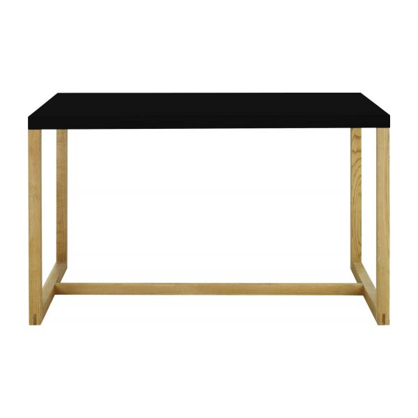 Rectangular dining table, black n°2