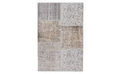 Carpet made of wool 80x120, grey