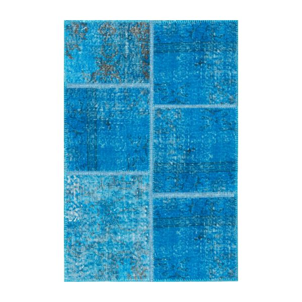 Carpet made of wool 80x120, turquoise