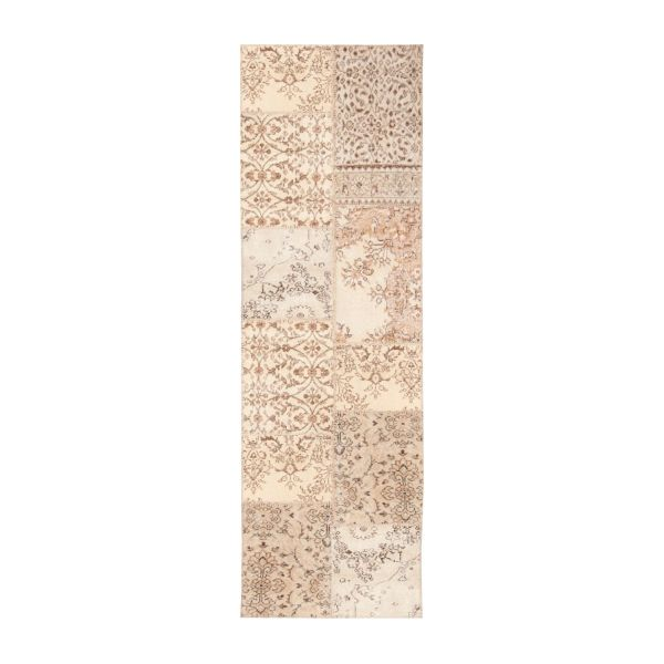 Carpet made of wool 80x250, beige