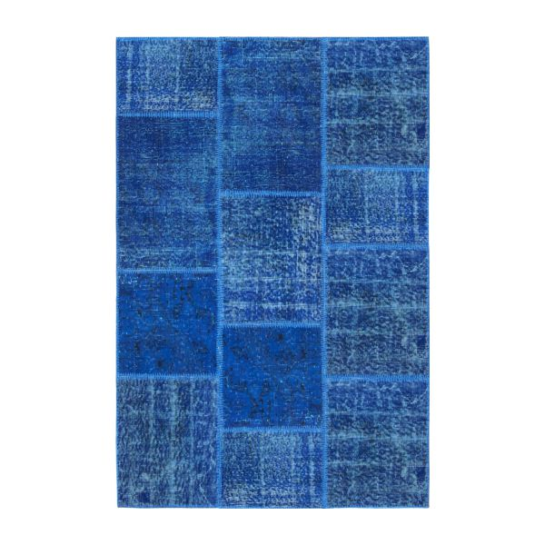 burling tapis en laine 120x180 bleu fonc habitat. Black Bedroom Furniture Sets. Home Design Ideas
