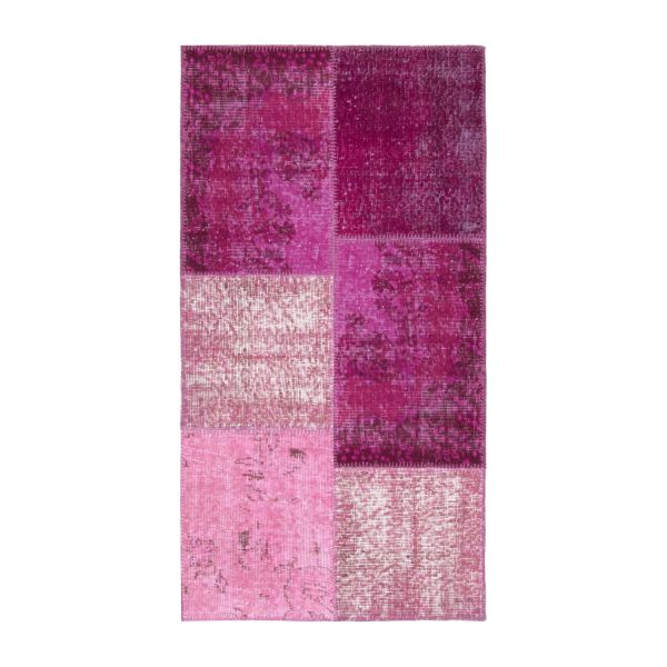 Carpet made of wool 80x150, purple