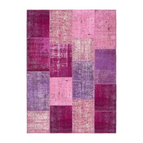 Carpet made of wool 160x220, purple