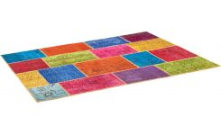 Carpet made of wool 170x240, multicolor