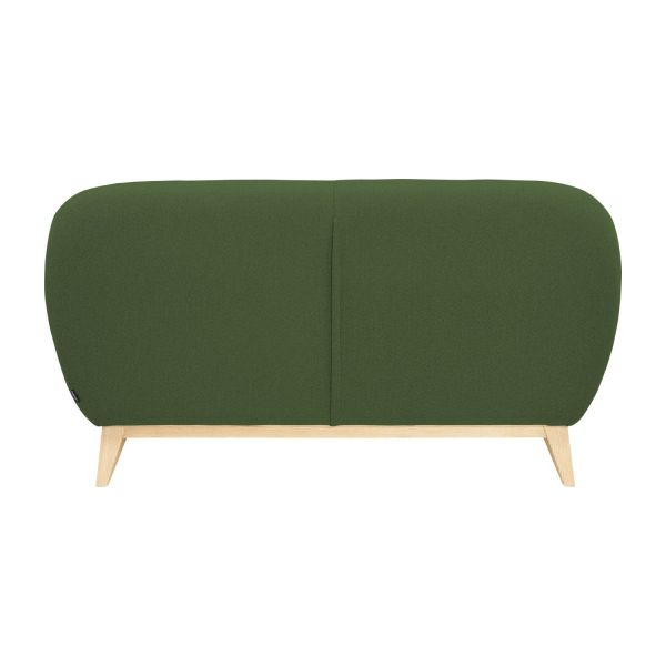 2 seater sofa made of fabric, green n°4