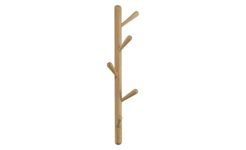 large oiled solid oak coat-peg