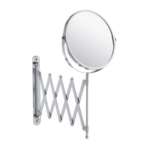 zig zag pull out bathroom mirror habitat