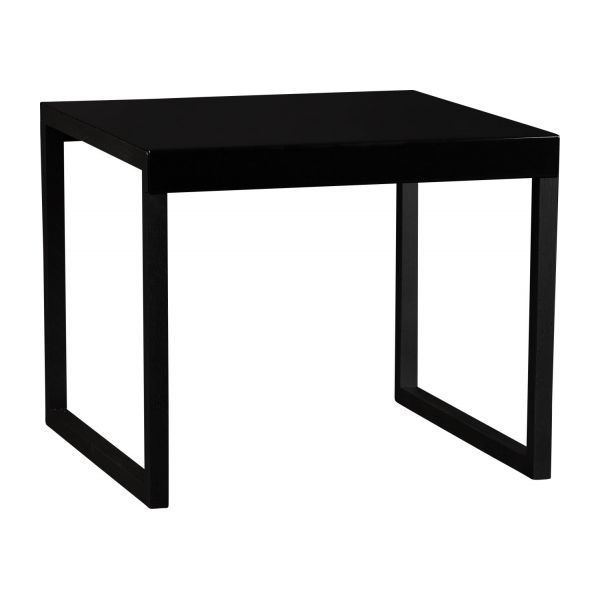 kilo table d 39 appoint en m tal et ch ne massif habitat. Black Bedroom Furniture Sets. Home Design Ideas