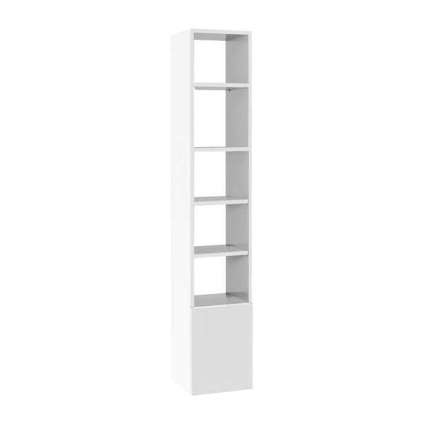 Kubrik shelves and bookcases white mouse grey wood lacquered habitat - Etagere laquee blanc ...