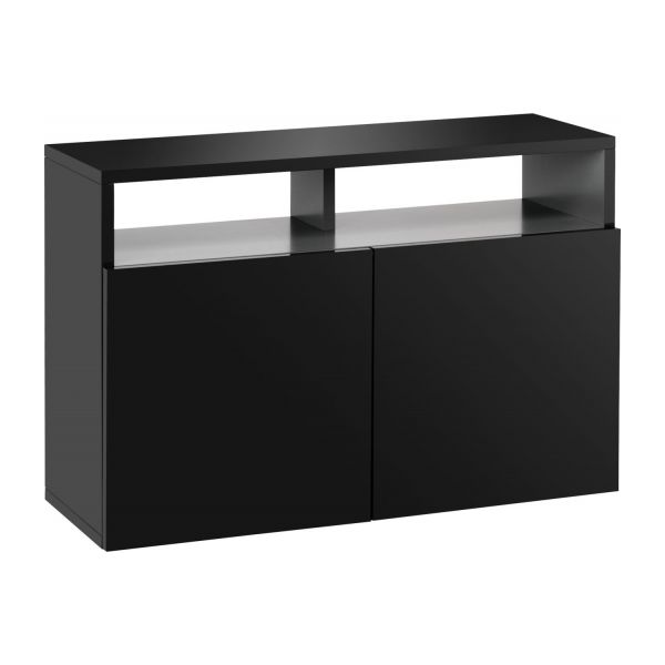 kubrik buffet laqu habitat. Black Bedroom Furniture Sets. Home Design Ideas