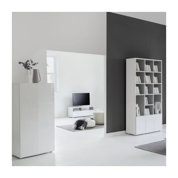 Lacquered audio-video furniture n°4