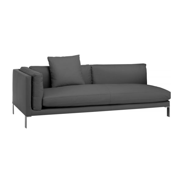 newman 3 sitzer ledersofa habitat. Black Bedroom Furniture Sets. Home Design Ideas