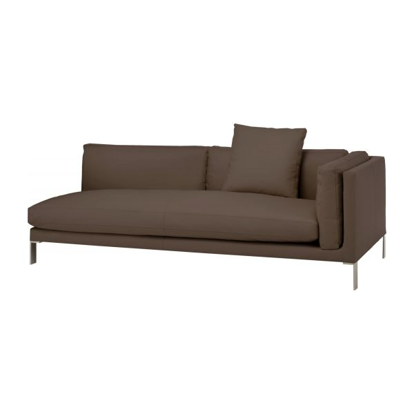 Sensational Newman 3 Seat Leather Sofa Download Free Architecture Designs Salvmadebymaigaardcom