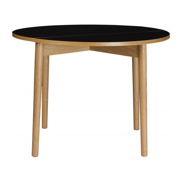 Suki table de salle manger pliante habitat - Table manger pliante ...