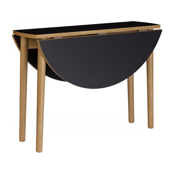Suki table de salle manger pliante habitat for Table pliante salle a manger